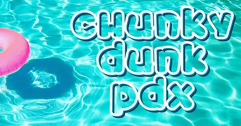Plus Size Pool Parties this summer-Chunky Dunks PDX