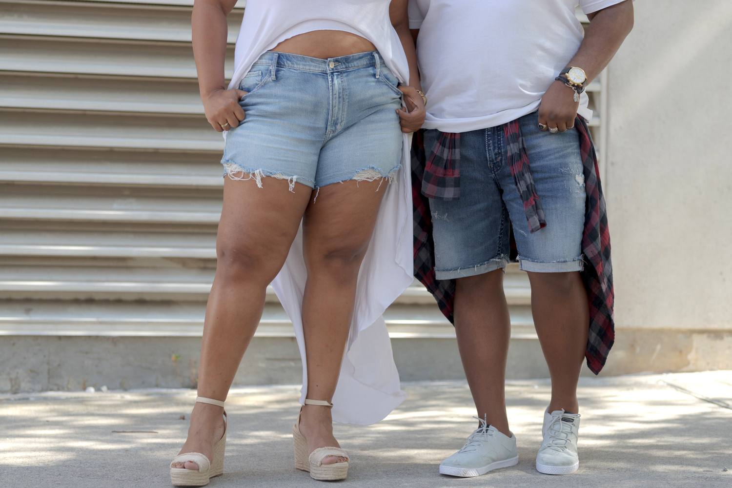 Silver Jeans Shorts in Plus Sizes