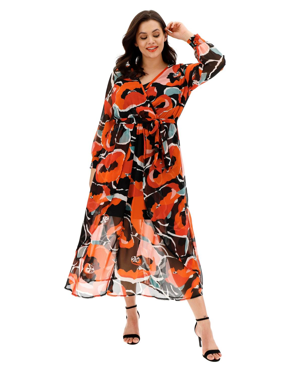 simply be floral maxi