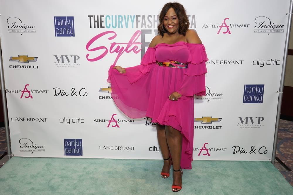 Plus Size Pink Dress