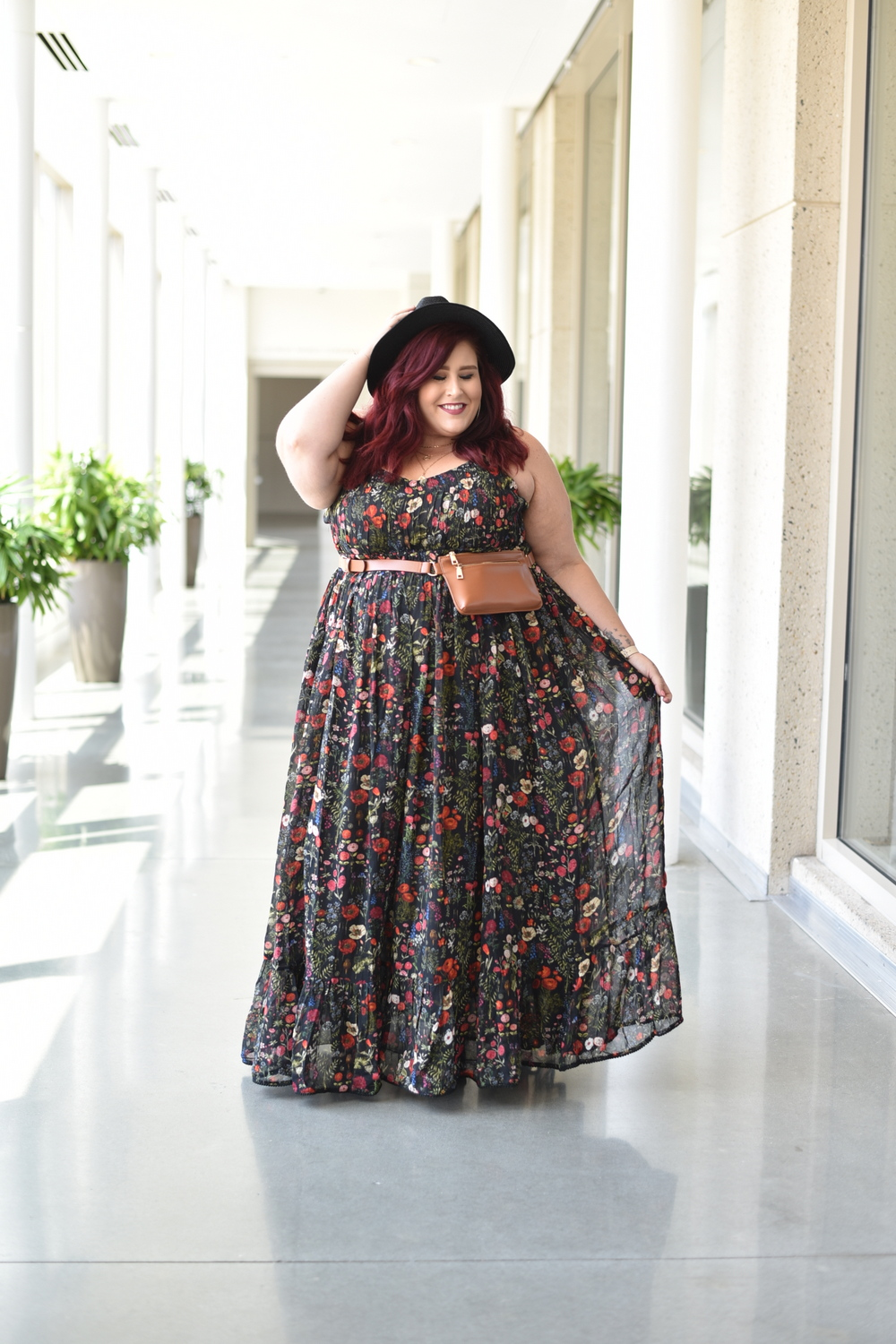 Anthropologie sponsors the TCFStyle Expo- Megan of Curves Curls and Clothes