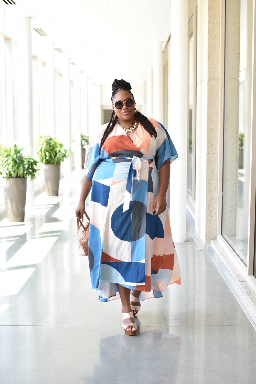 Anthropologie sponsors the TCFStyle Expo- Shaina of A Thick Girls Closet