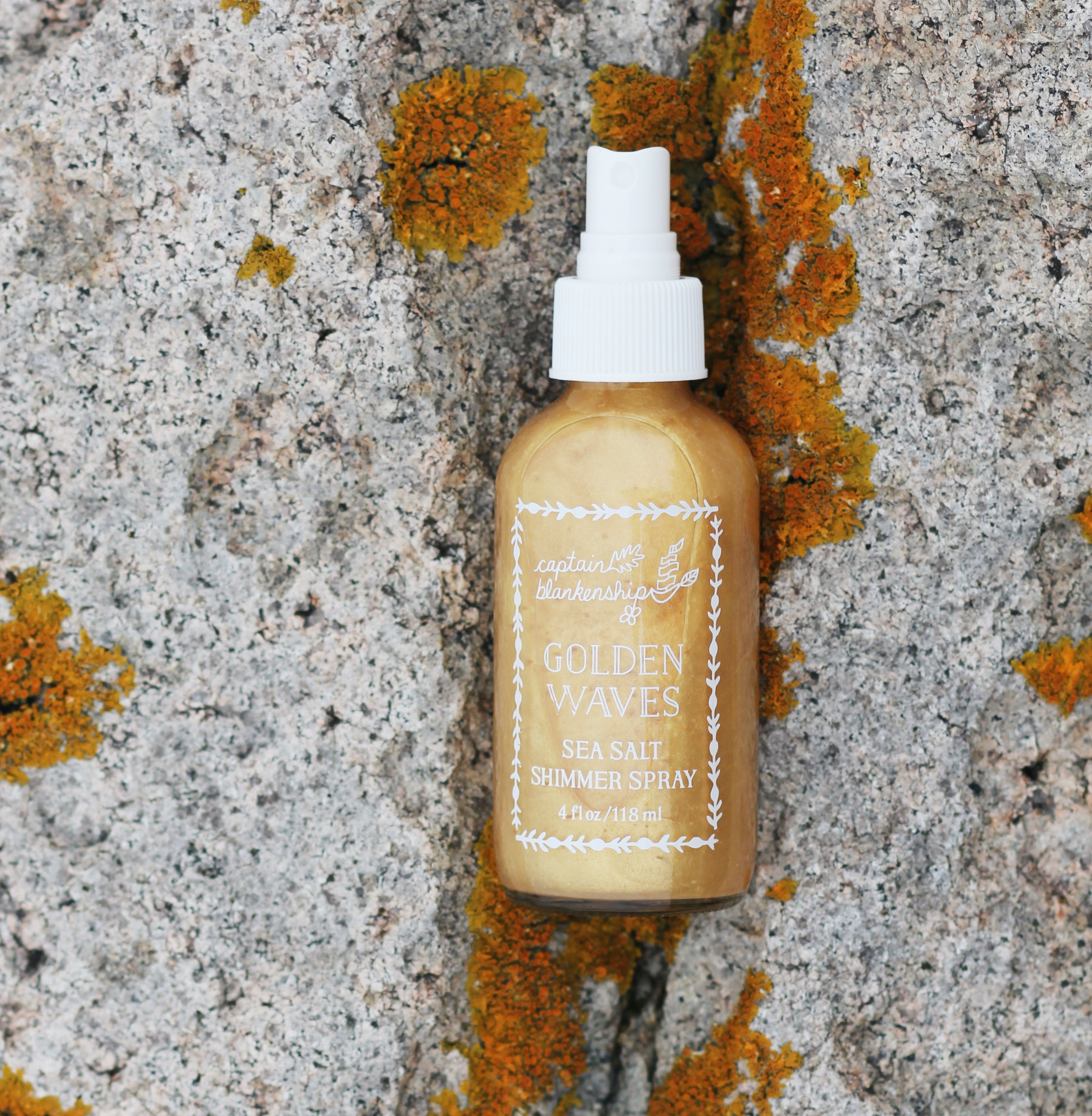 Know these 12 Indie Skin Care Lines- Captain Blakenship Golden Waves
