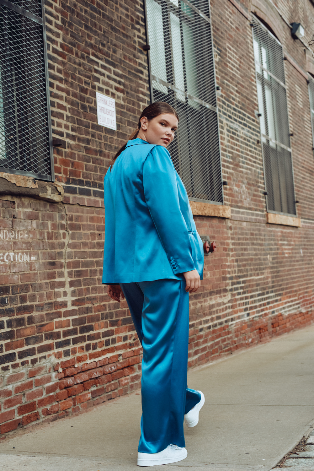 Lauren Chan Gives Us Contemporary Tailored Options and Plus Size Suiting with Henning
