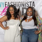 Marie Denee and Tasha CObbs at the TCFStyle Expo