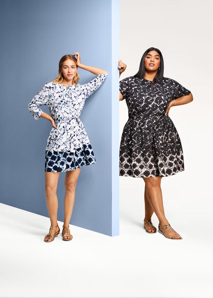 Yes, The Target 20th Anniversary Collection Includes Plus Sizes!
