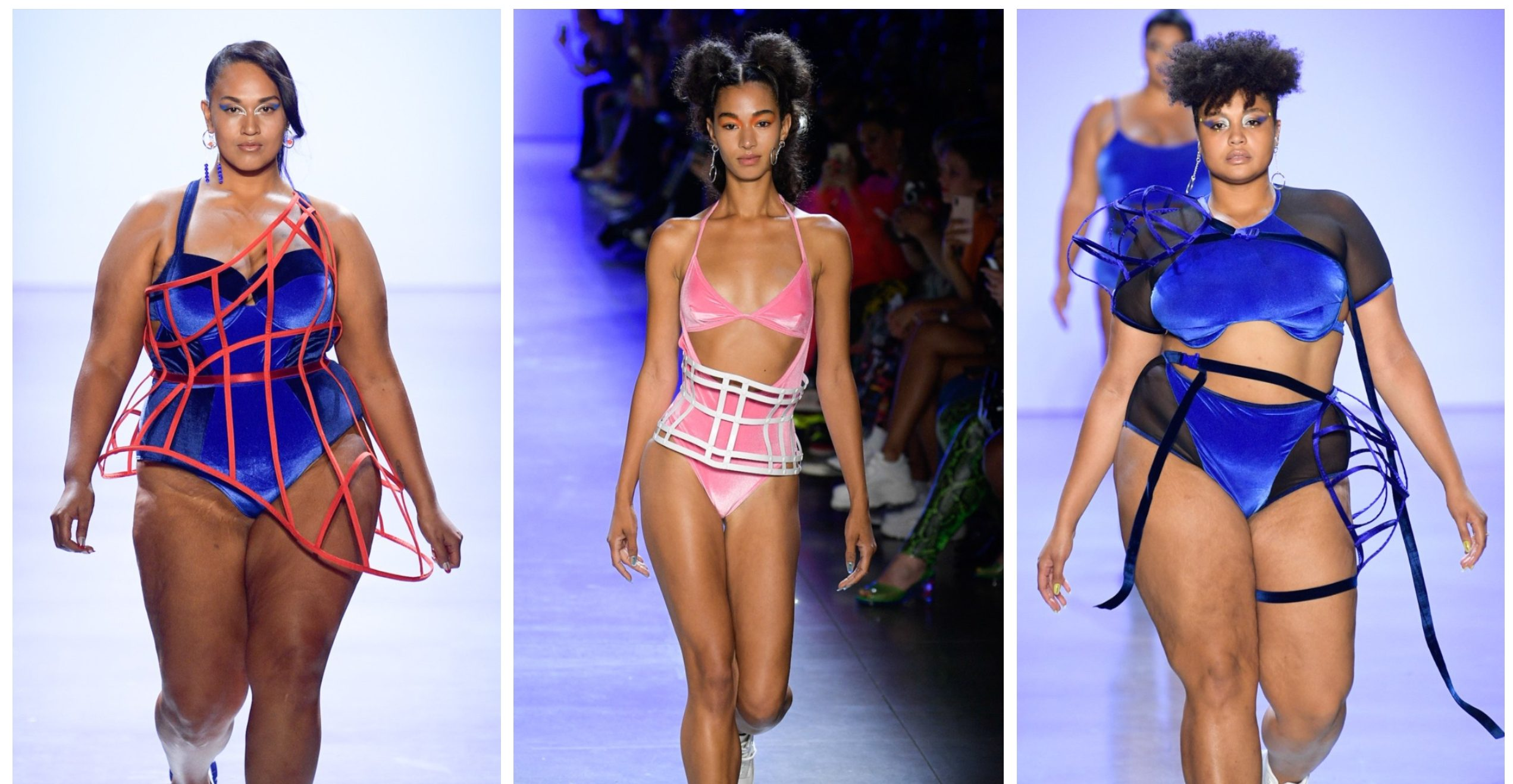 Plus Size at NYFW: Chromat's Futuristic Vision for Spring