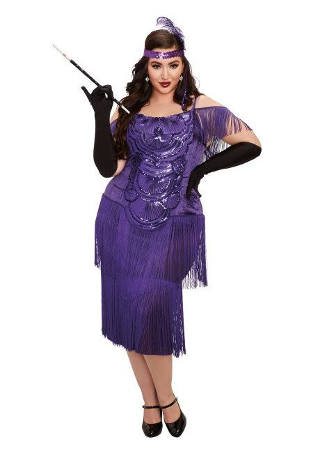 Plus size halloween costumes at Hips and Curves