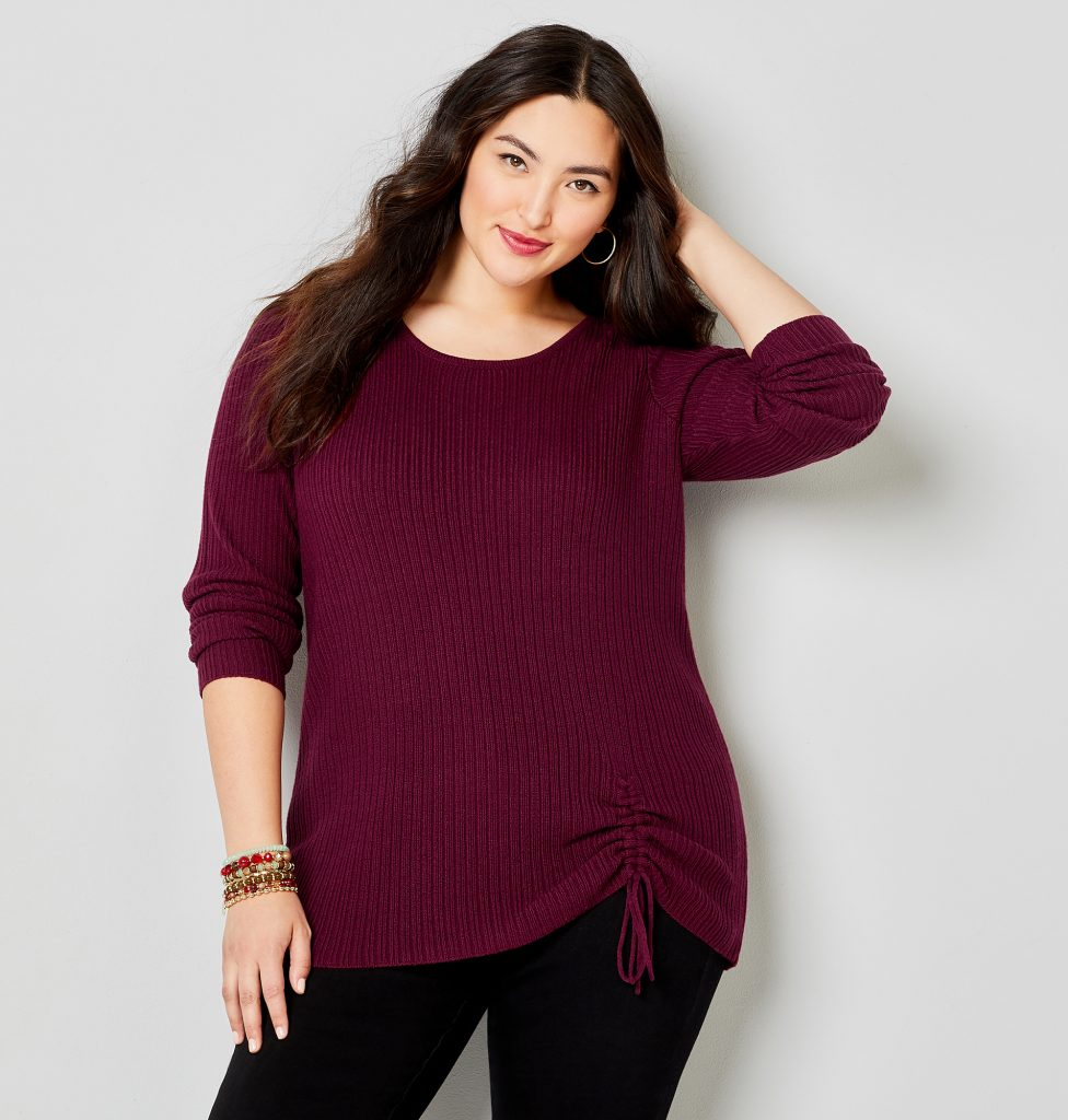 Avenue cinched sweater