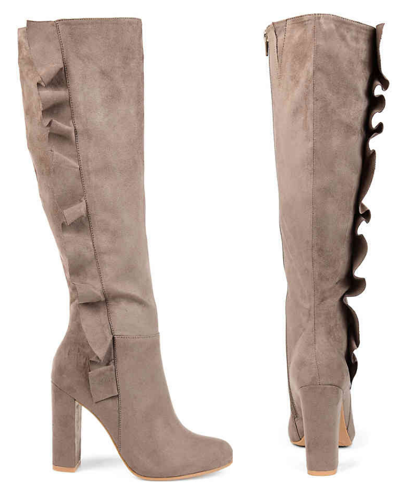 Vivian Extra Wide Calf Boots from the Journee Collection at DSW.