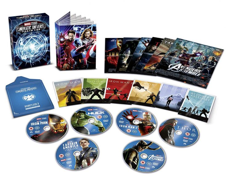 Marvel Studios: Phase 1 Collector's Edition