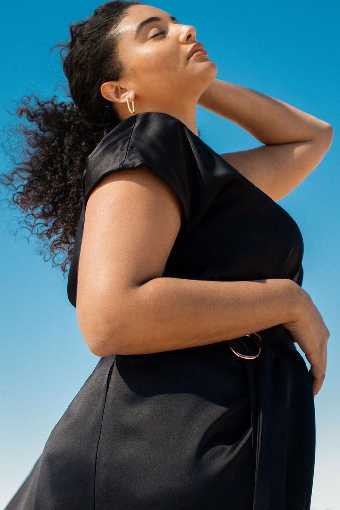 Meet Inclusive Luxury Brand, Coyan giving us plus size high end minimalist fashion