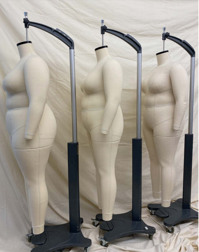 The Pari Passu Fit SYstem based off of research of 7500 plus size women.