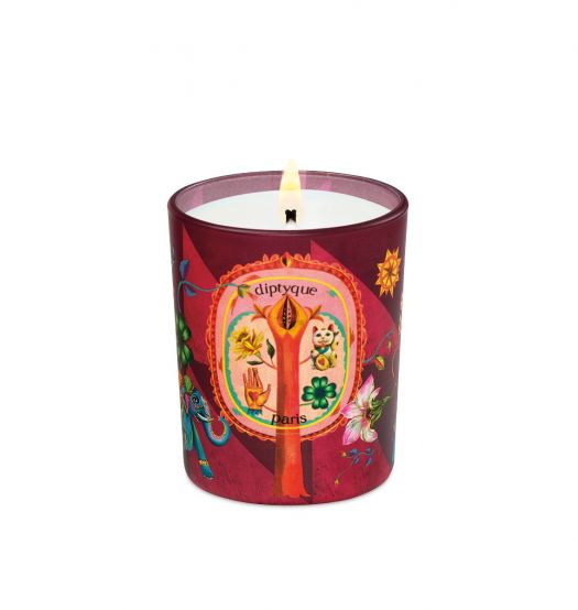 Lucky Flowers Small Candle